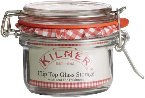 Clip Top Round Jar- 4 oz