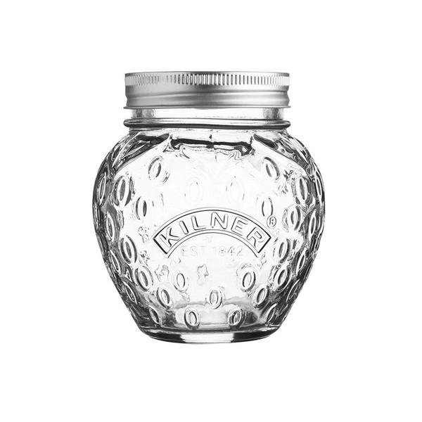 Strawberry Fruit Jar - 13.5 oz