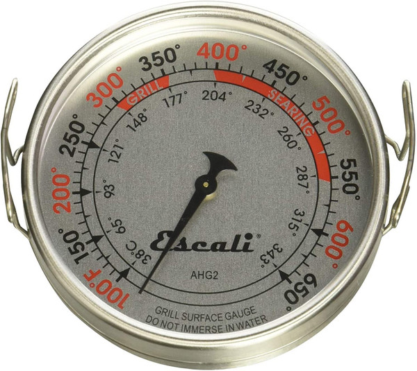 Extra Large Grill Surface Thermometer