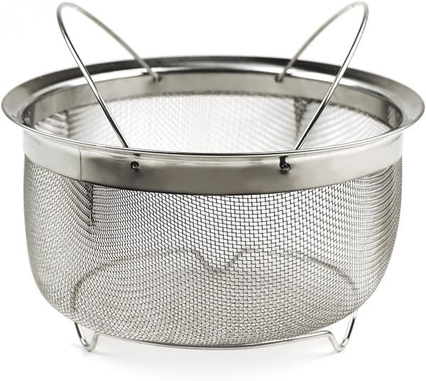 Mesh Colander Strainer Basket - 3 Qt.