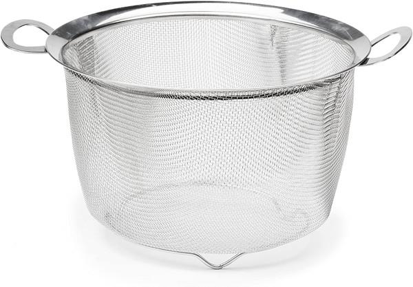 4 Quart Wide Rim Mesh Basket