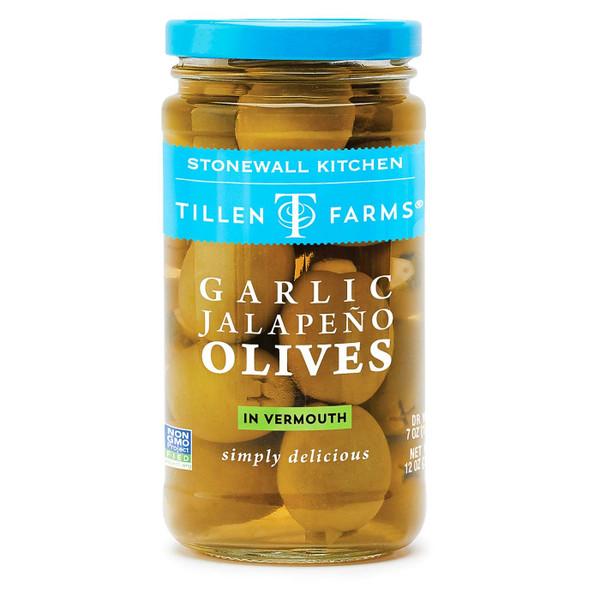 Garlic Jalapeño Olives