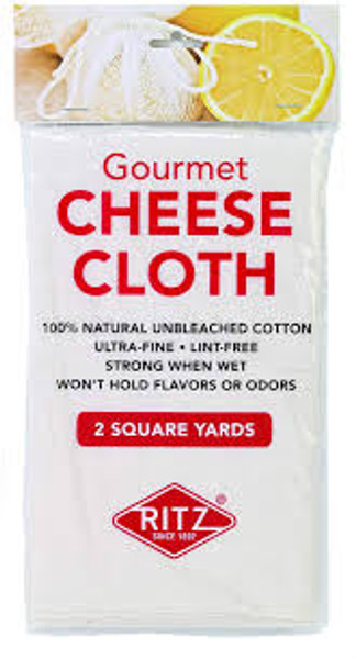 Cheesecloth - 100% Natural Unbleached Cotton