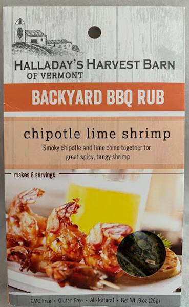 Halladay's Chipotle Lime Shrimp Rub