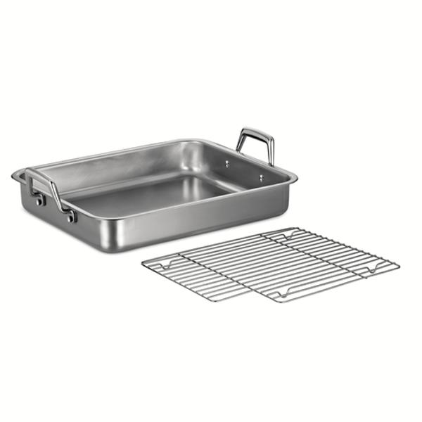 """Stainless Steel Roasting Pan 16.5"""""""