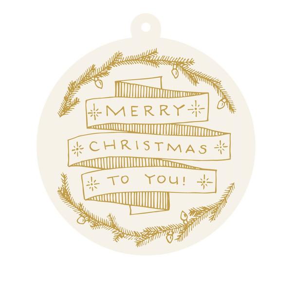 """Merry Christmas' Gift Tags"