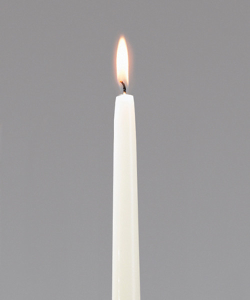 """Ivory Taper Candles - 10"""""""