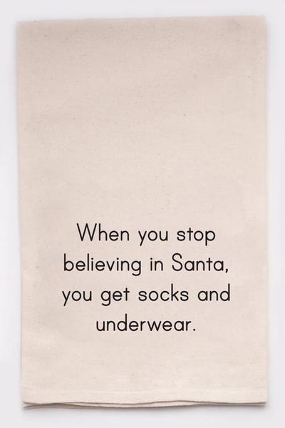 Funny Dish Towel - Socks & Underwear