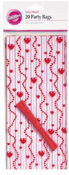 Love Heart Treat Bags