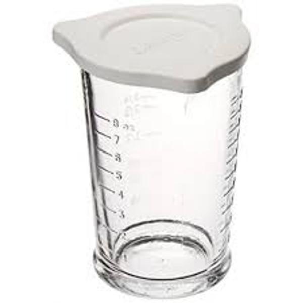 Triple Pour Measuring Glass & Lid