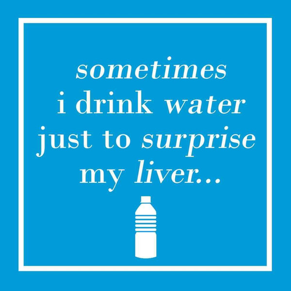 Funny Napkins - Surprise My Liver