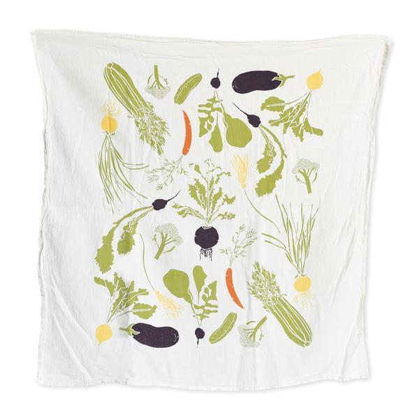 Vegetable Garden Kitchen Towel