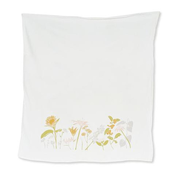 Summer Flowers Kitchen Towel