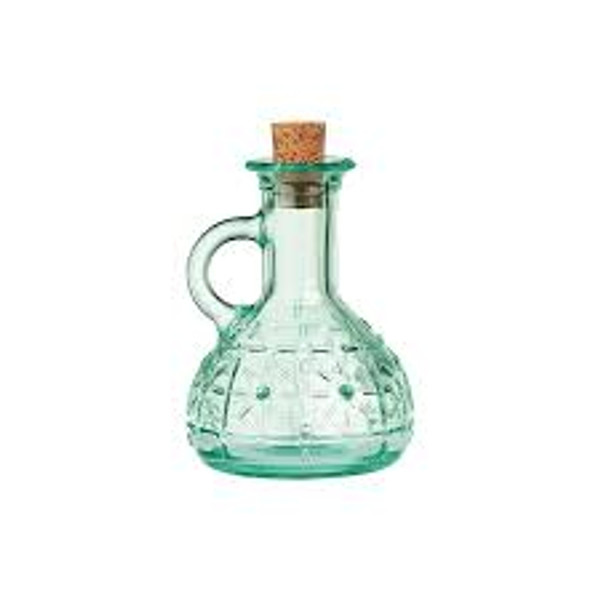 Olivia Glass Bottle with Cork Lid
