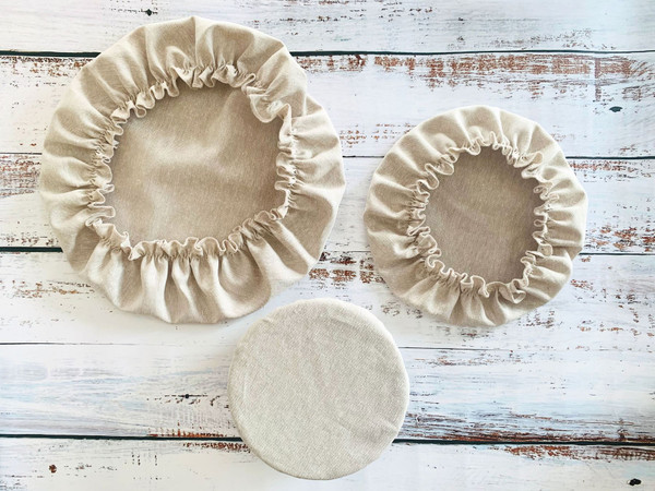 Fabric Bowl Covers - Set of 3