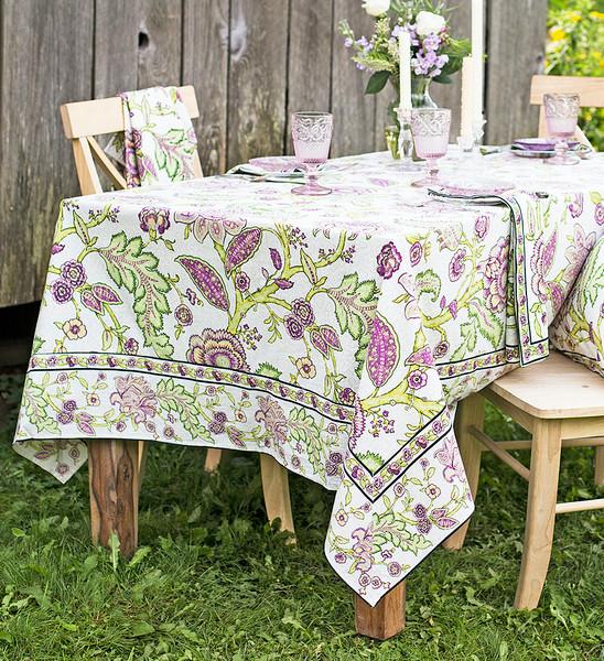 Jacobean Garden Tablecloth