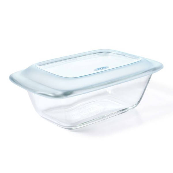 Good Grips Glass Loaf Pan with Lid