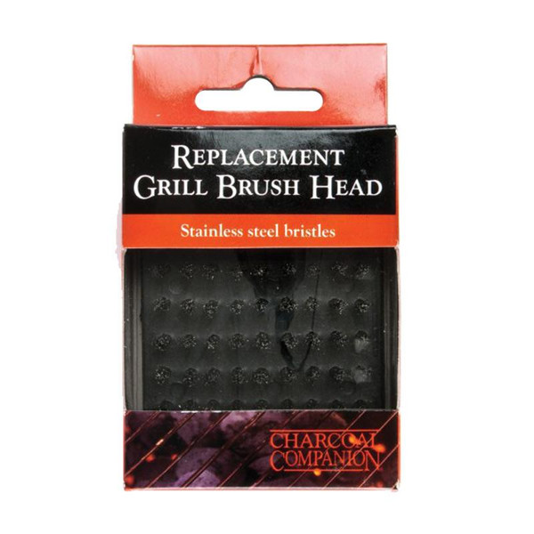Charcoal Companion Replacement Grill Brush Head