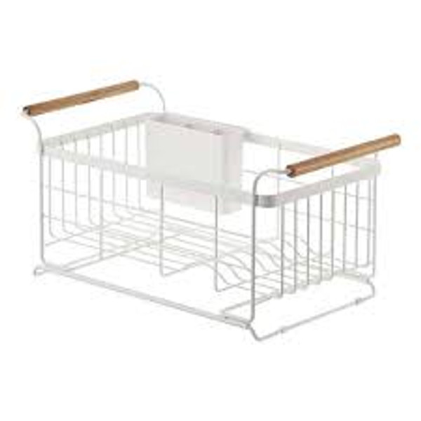 Over-the-Sink Expandable Dish Drainer