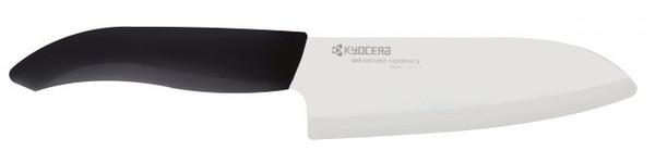 Kyocera Ceramic Santoku Knife   Black