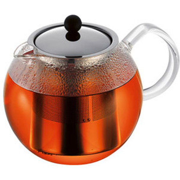 Bodum Assam Tea Press w/ Stainless Steel Filter & Lid - 34oz.