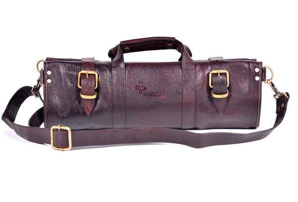 Boldric Leather Knife Bag