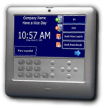 TimeTrak TouchPro ESS Biometric Time Clock