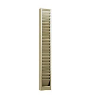 Vertical Badge Rack - 25 Capacity
