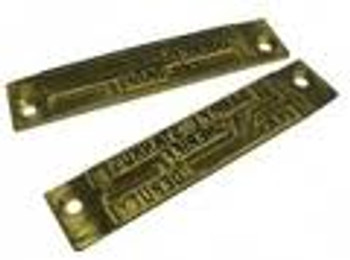 Rapidprint Upper Engraved Die Plate (Prints Above Date & Time)