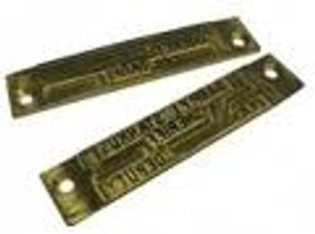 Widmer Lower Engraved Die Plate (Prints Below Date & Time)