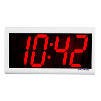 Inova On-Time Wall Clock ONT4DSOW-P Double Sided Wall Clock