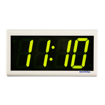 Inova On-Time Wall Clock ONT4DSOW-P-G Double Sided Wall Clock