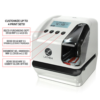 Lathem LT5000 Electronic Time Stamp
