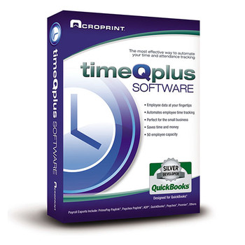 Acroprint's Virtual Clock Offers 2 programs, Quick Punch for easy punching in and out on the desktop, and Virtual Clock which also allows employees to see additional information about their punches and time card.