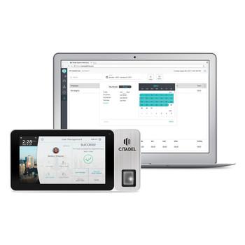 Citadel OB3000 Portable Fingerprint, RFID, & Pin Entry Touchscreen Time Clock