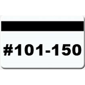 50 Magnetic Stripe Badges (#101 - 150)