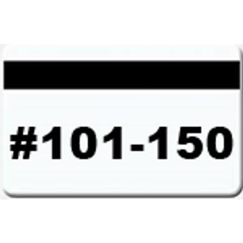 50 Magnetic Stripe Badges (#101 - 150)