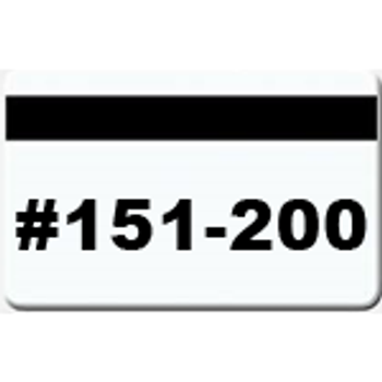 50 Magnetic Stripe Badges (#151 - 200)