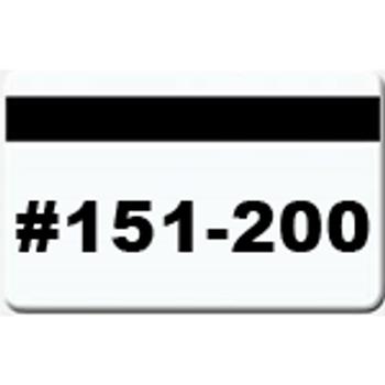 50 Magnetic Stripe Badges (#151 - 200)