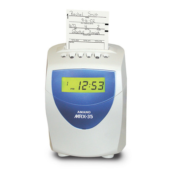 Amano MRX-35 Time Clock