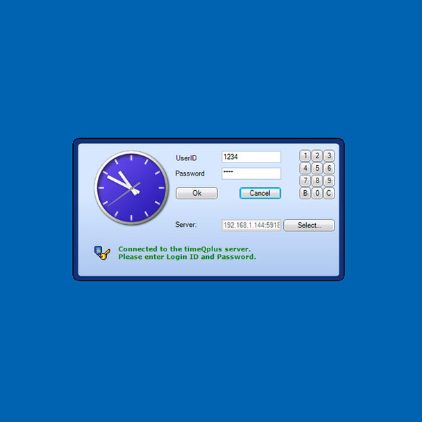 Virtual Clock offers the same functionality as Quick Punch, with the added benefit of employee information.
