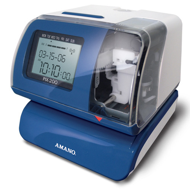 Amano PIX-200 Time Clock