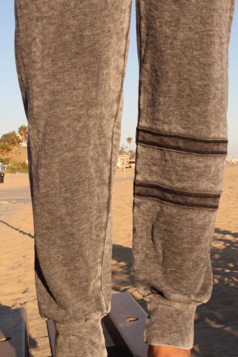 ARMY STRIPE CONTRAST SWEAT PANTS