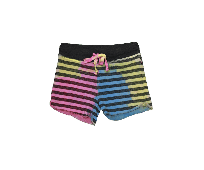 YPB TIE DYE STRIPE SHORT WITH BACK POCKET