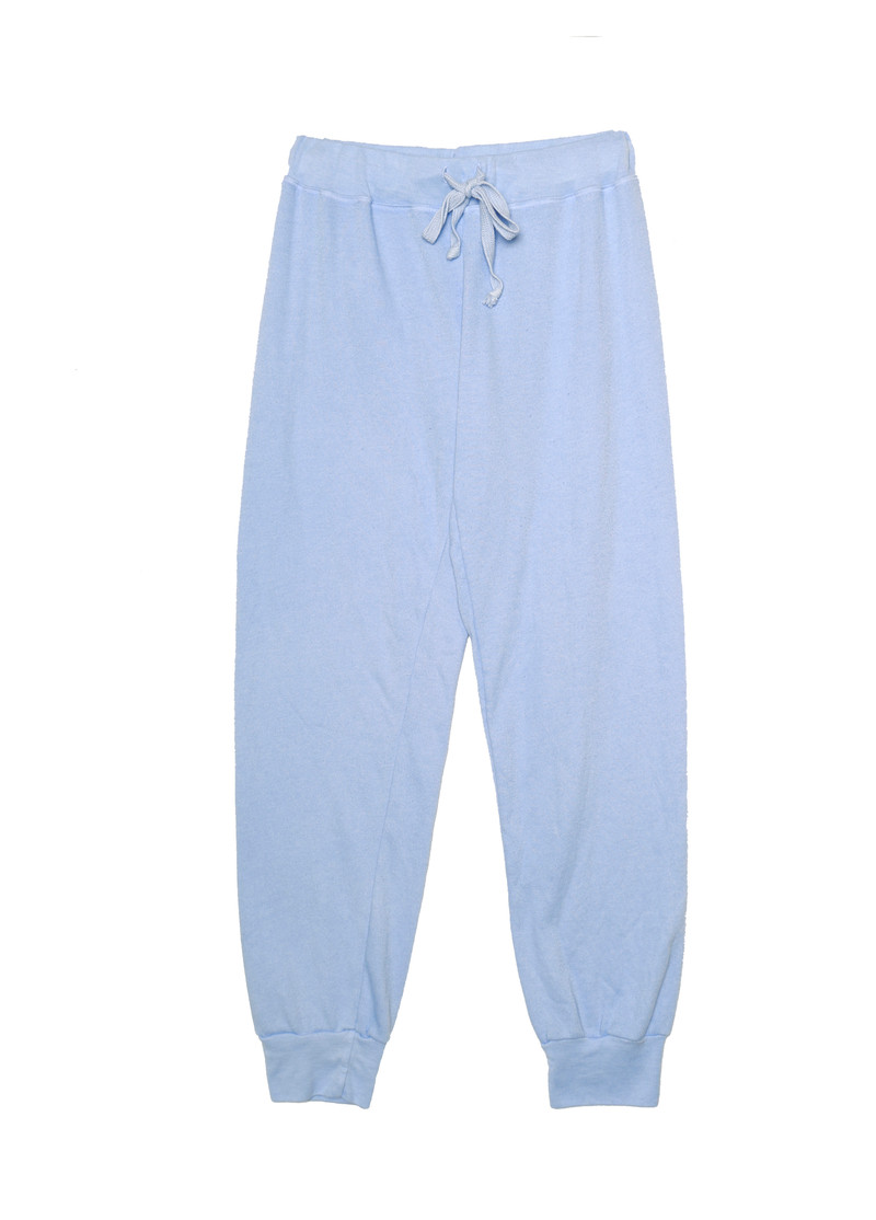 B BLUE SWEAT PANTS WITH BACK POCKET