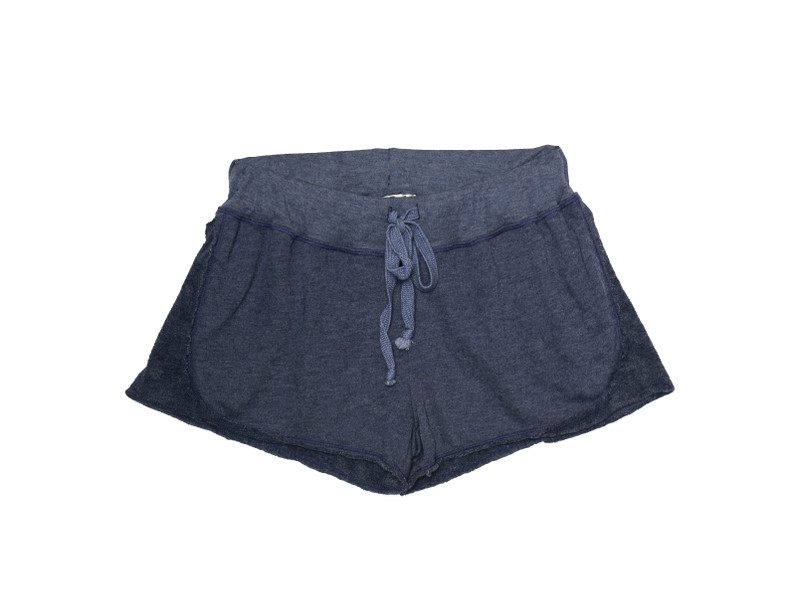 NAVY SHORT WITH REVERSE CONTRAST