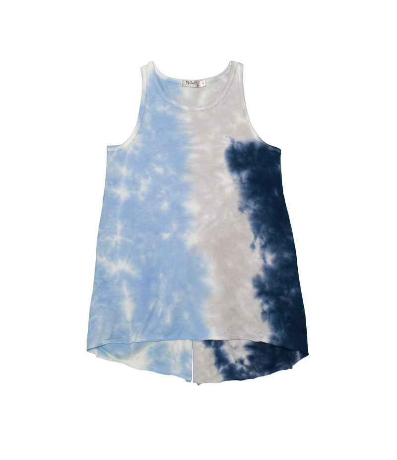 NGB TIE DYE KOTTED BACK TANK