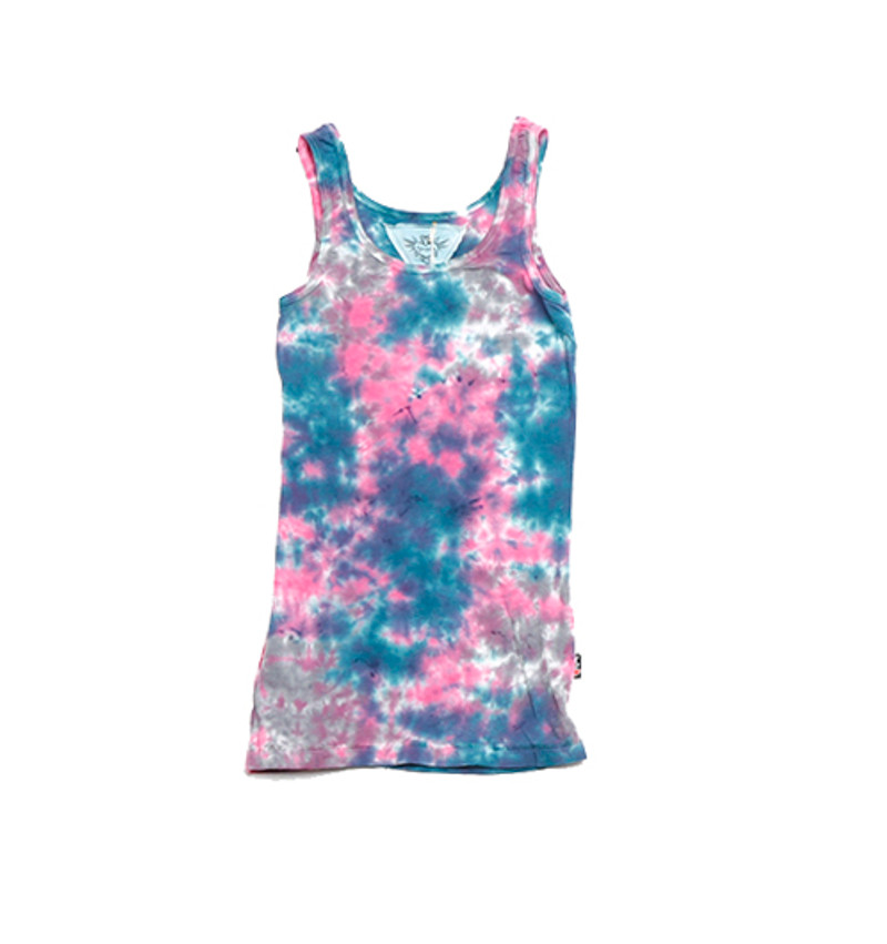 TIE DYE LAYER TANK TOP