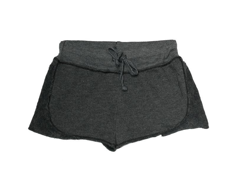 BLACK SHORTS WITH REVERSE CONTRAST