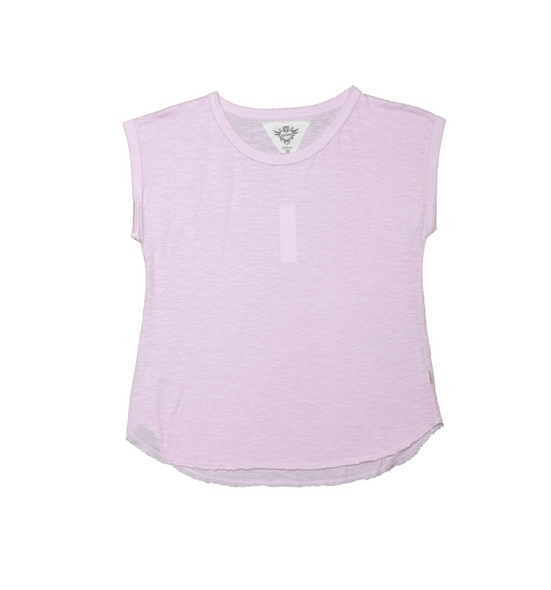 BABY PINK COTTON MUSCLE TEE
